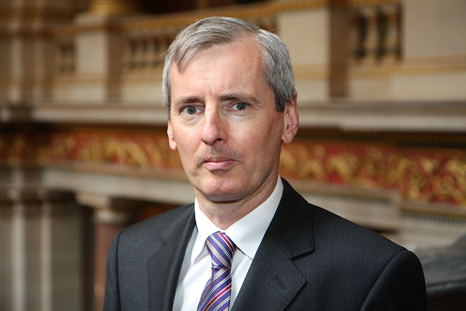 UK Ambassador to Russia Laurie Bristow