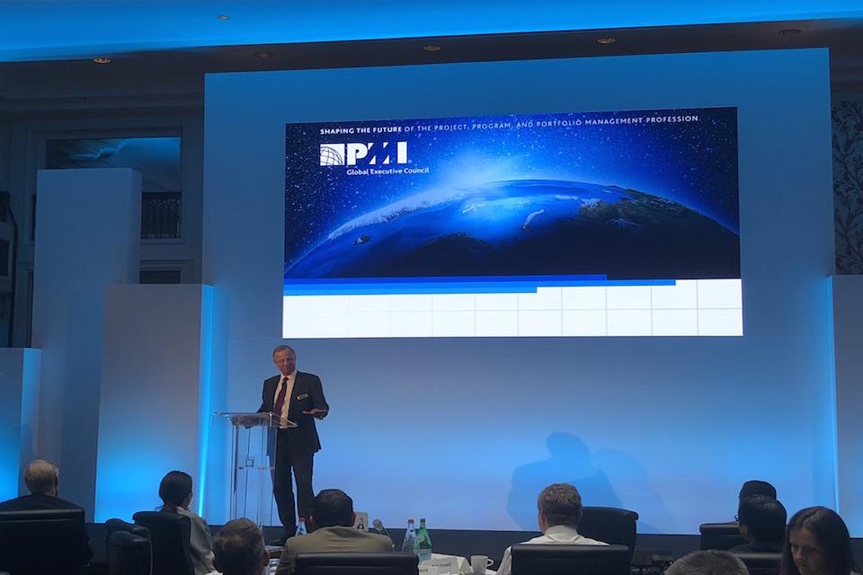 Tony Meggs at PMI Global Executive Council