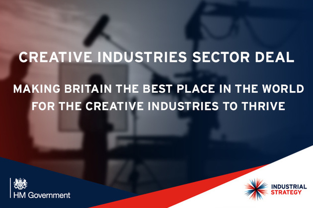 creative industries sector deal graphic