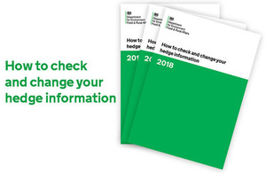 How to check and change your hedge information booklet