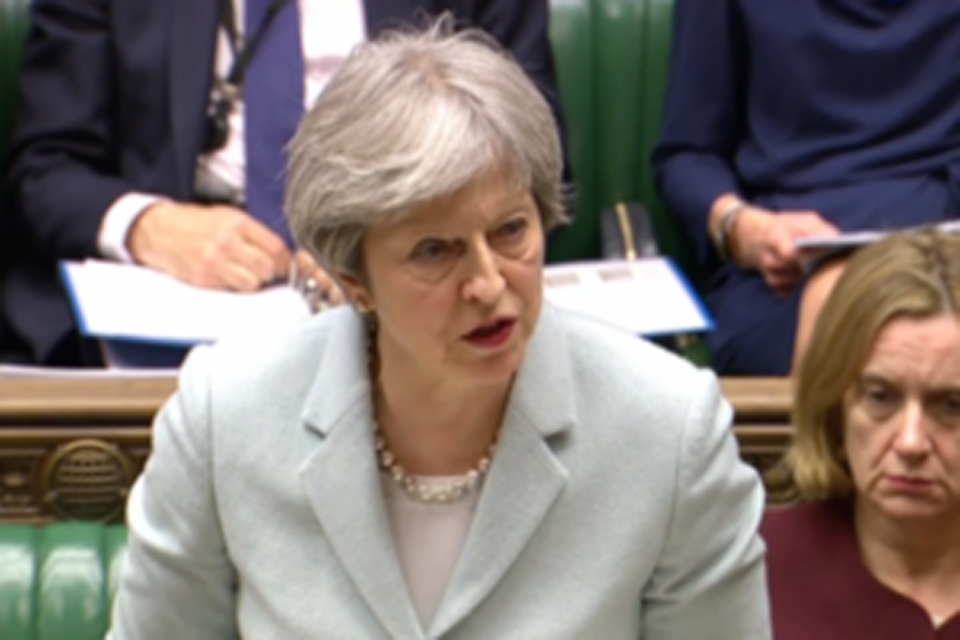 Read the 'PM Commons statement on National Security and Russia: 26 March 2018' article