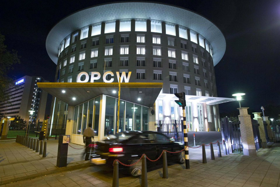 Organisation for the Prohibition of Chemical Weapons building in The Hague