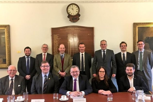 David Mundell meets with representatives from the food, drink and retail sector