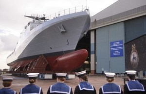 HMS Trent naming ceremony