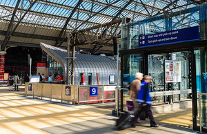 Picture of Liverpool Lime Street station.