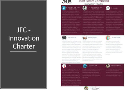 Read the Joint Forces Command innovation charter