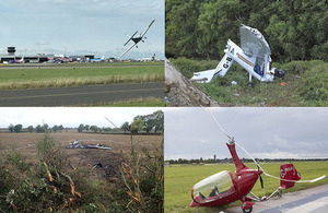 Air accident monthly bulletin April 2018
