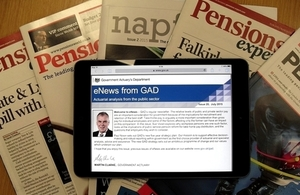 eNews from GAD: issue 31, April 2018