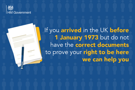 If you arrived in the UK before 1 January 1973 but do not have the correct documents to prove your right to be here, we can help you.