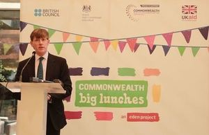 The British High Commission hosts the Commonwealth Big Lunch in Lahore