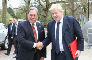 United Kingdom and New Zealand to increase cooperation in the Pacific and on global challenges