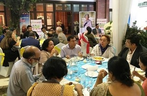 British High Commission hosts the Commonwealth Big Lunch in Dhaka