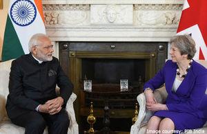 PM Modi PM May