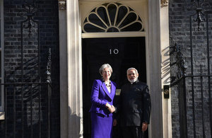 Prime Ministers of UK and India