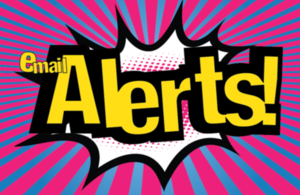 Email alerts image