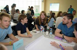 Nova Kraina workhop on decentralisation in Kharkiv