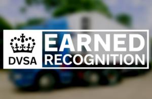 Earned recognition logo