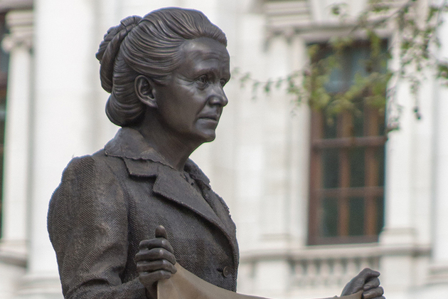 Millicent Fawcett, created by Turner Prize-winning artist Gillian Wearing, is the first-ever statue in Parliament Square of a woman