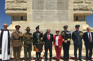 Sir Alan Duncan Gallipoli Commemoration Speech