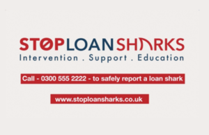 Call 0300 555 2222 to safely report a loan shark.