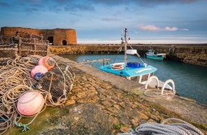 Beadnell Harbour Fishing Gear