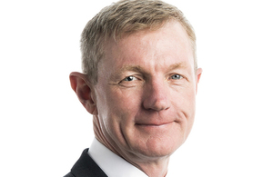 Sir Simon Bollom, the new Chief Executive for Defence Equipment and Support (DE&S)