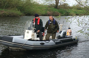 Boat patrols in the North East are targeting illegal fishing