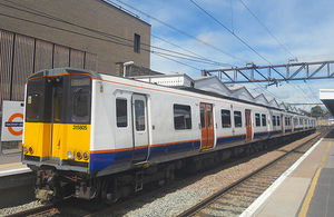 Image of a class 315 unit similar to those involved in the incident (Photo by PeterSkuce on Wikimedia Commons. Used under Creative Commons)