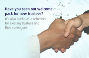 New welcome pack for charity trustees