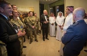Qatari and British Airmen celebrate RAF 100th Anniversary in Doha