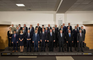 Foreign Secretary at NATO Foreign Ministerial meeting