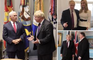 Foreign Secretary in Washington D.C.