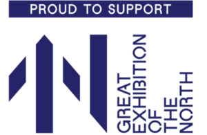 Great Exhibition of the North supporter logo