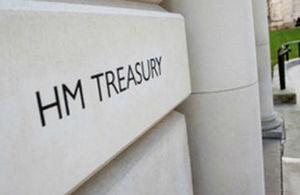 HM Treasury entrance