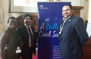Civil servants at National Day for Staff Networks event