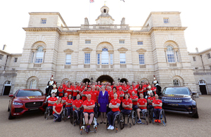 72-strong team that will represent the UK at the Invictus Games in Sydney 2018