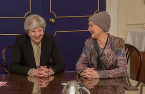 PM meets Tessa Jowell