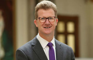 Stephen Lillie, British High Commissioner to Cyprus