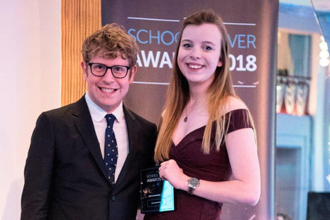 Verity Jackson receives award