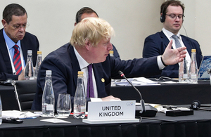FS Johnson attends G20 forum in Buenos Aires.