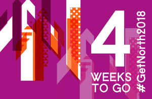 4 weeks to go graphic