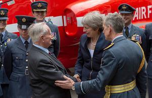 RAF 100 reception