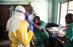Read the 'How the UK is helping to tackle Ebola in the DRC' article
