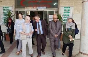 Minister Burt in Gaza