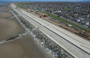 Rossall flood scheme