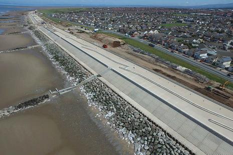Rossall flood scheme