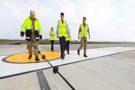 Read the Ready for F-35s: runway resurfaced at RAF Marham article