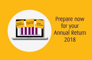 Annual return service 2018