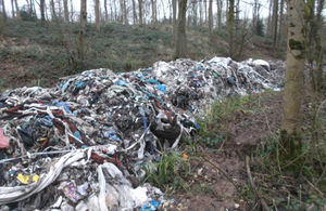 Madeley Heath rubbish dump