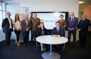 Lancaster Microsoft signing